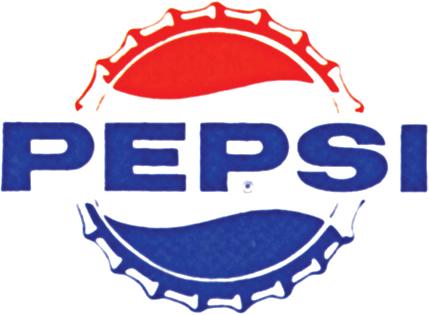 Pepsi logo 1960