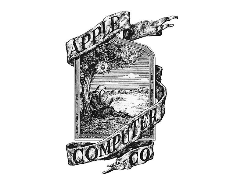 1976 Apple Logo