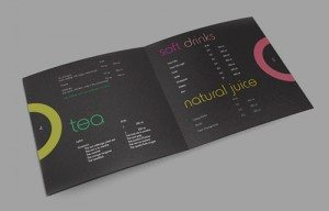 coffee menu design