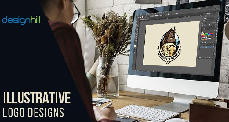 Illustrative Logo Designs