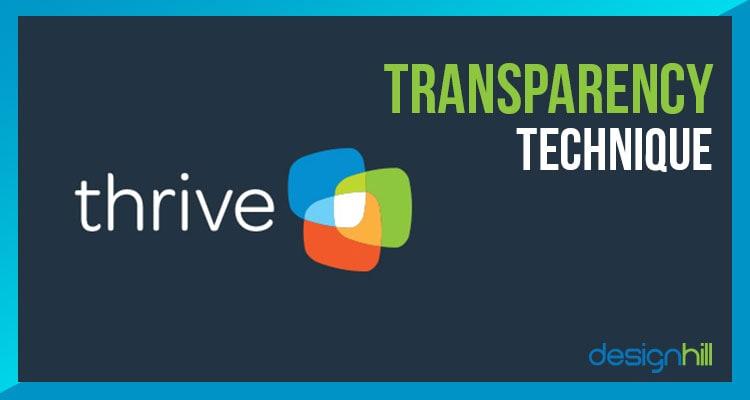 Transparency Technique