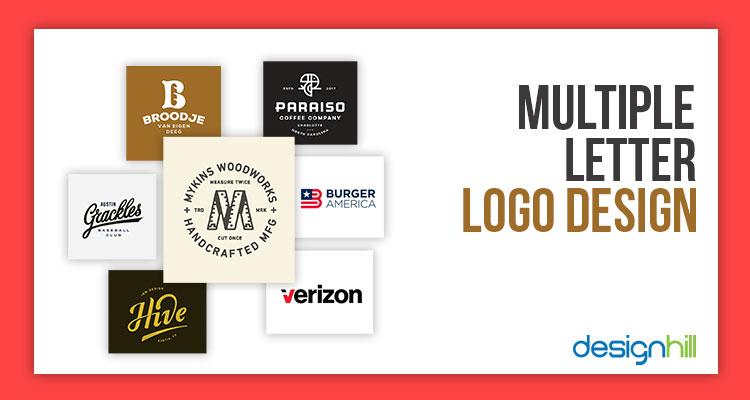 multiple letter logo design