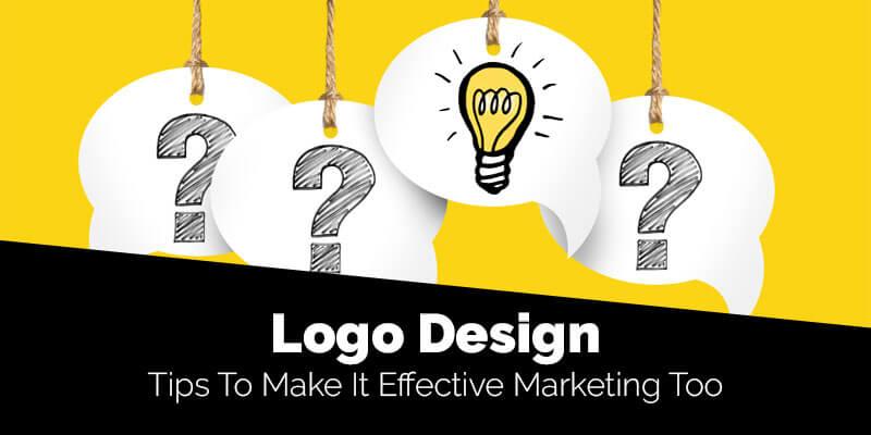 Logo Design - Tips To Make It Effective Marketing Tool