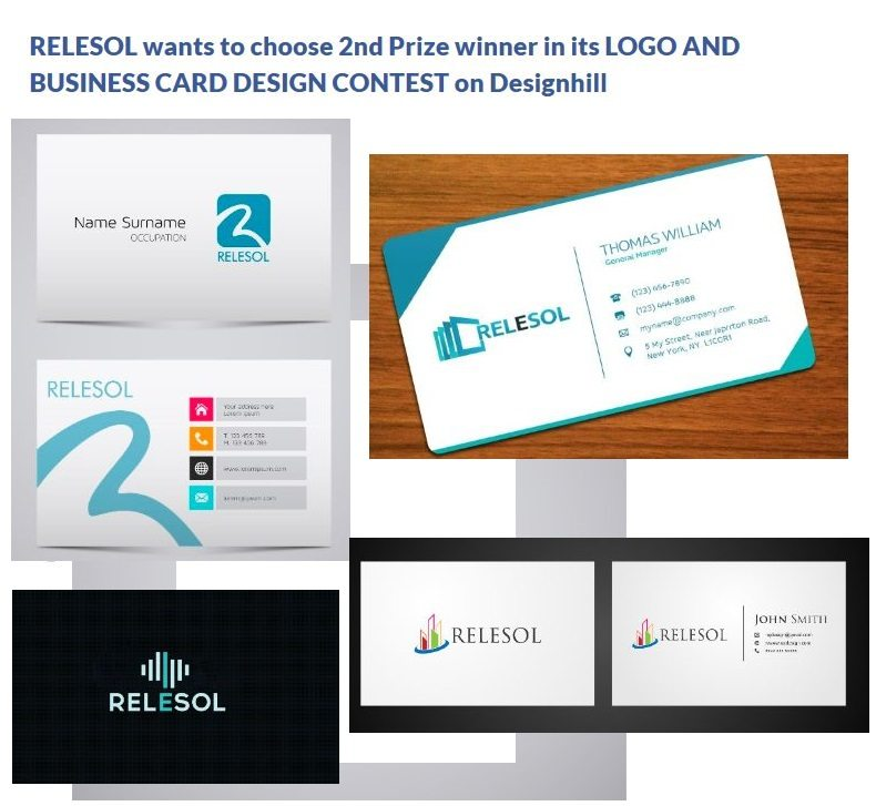Your chance to pick the best logo and business card design for 2nd prize by designhill tweet july 4 2014 in business cards design 1 min read reheart Choice Image