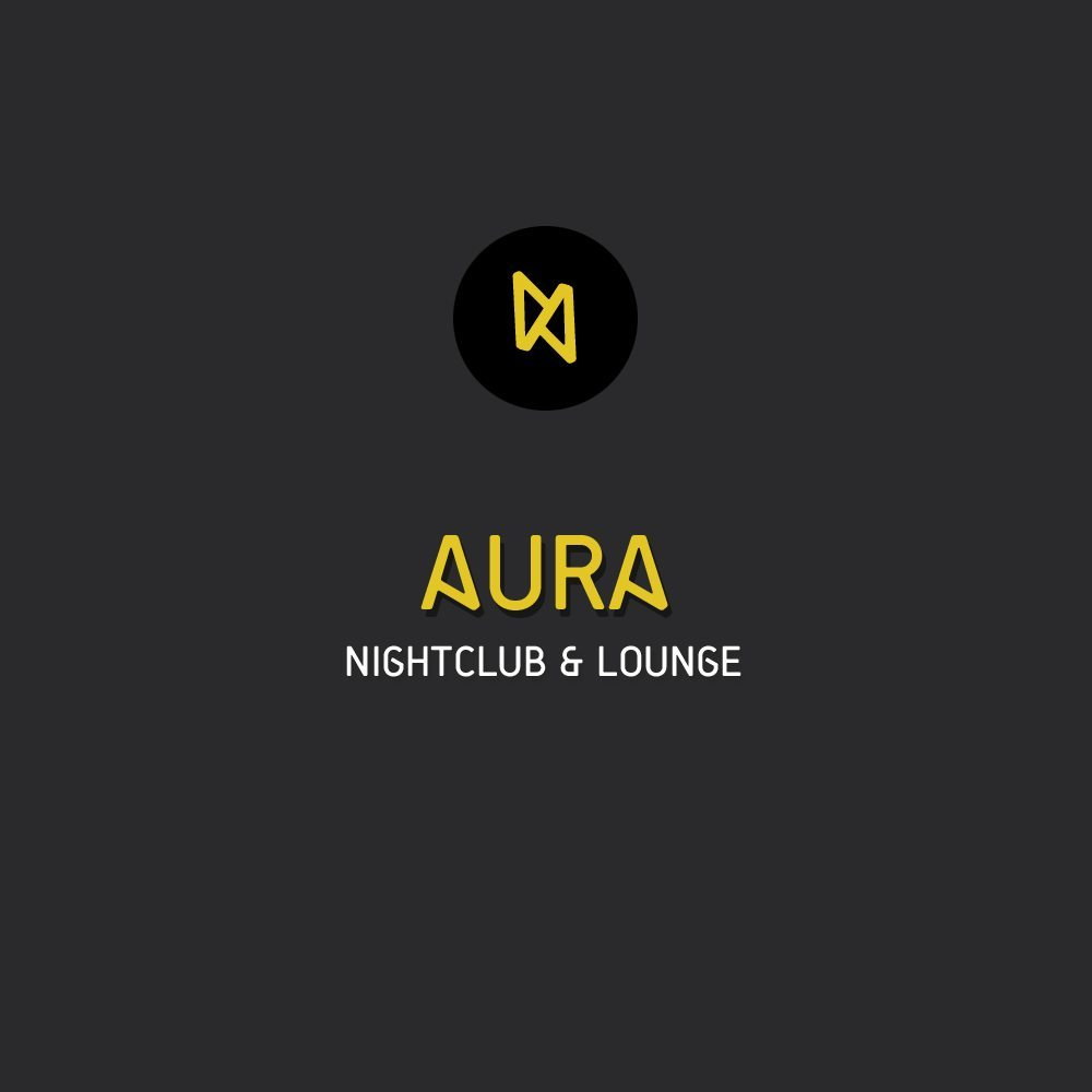 Winning Logo Nightclub Aura