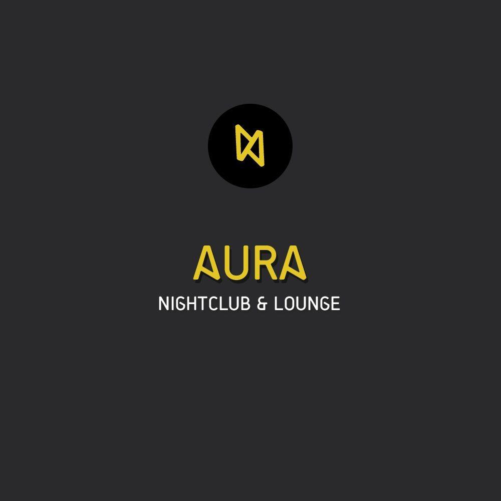 Winning Logo Nightclub Aura