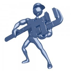 iconic plumber logo