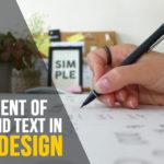 Text In Logo Design