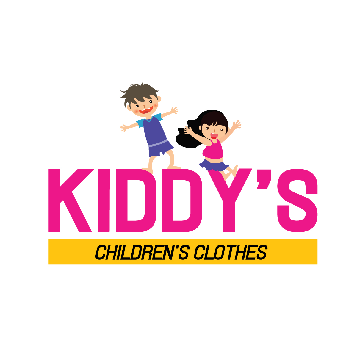 kids clothing boutique gets impressive logo design