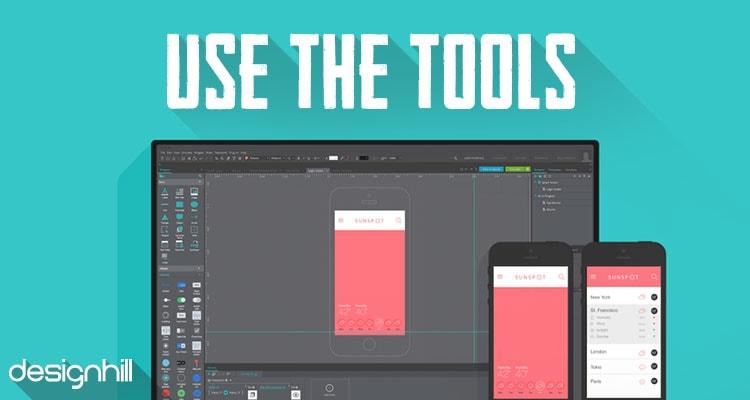 use tools