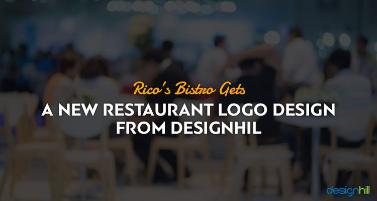 Rico's Bistro Gets A New Restaurant Logo Design from Designhill