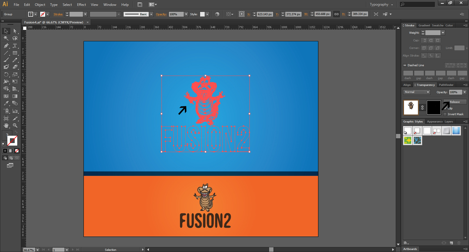 Graphic Design Skills - Fusion1