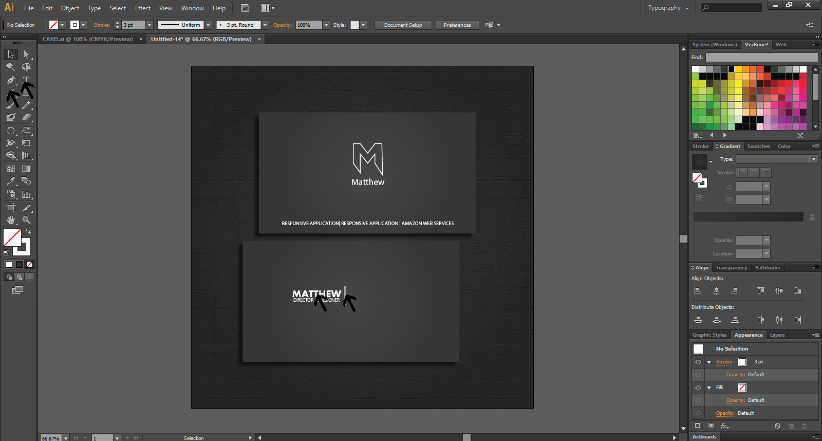 How To Create A Business Card Design
