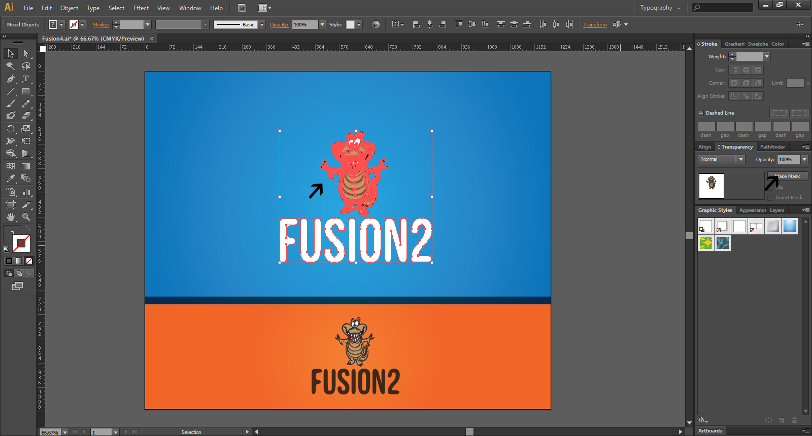 Graphic Design Skills - Fusion2