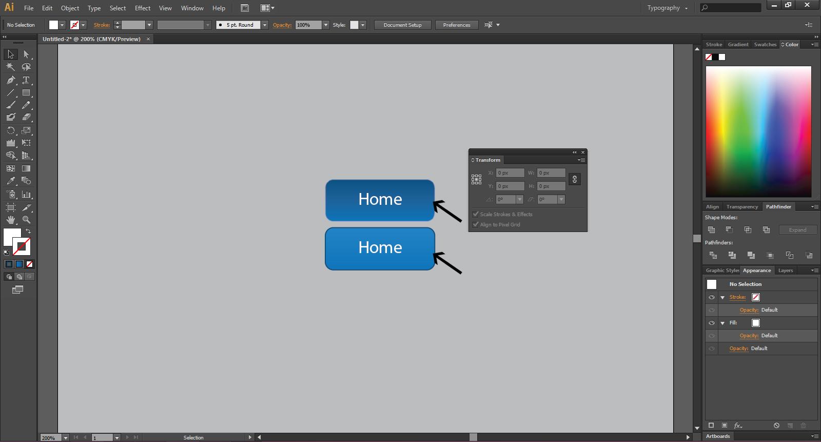 illustrator for web design