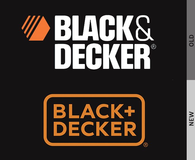 Logo Redesign of Black & Decker