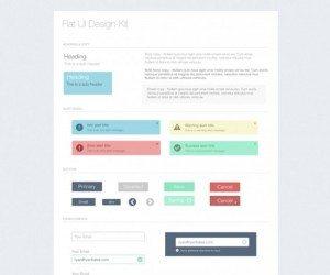 UI Kits – Freebie PSD