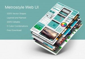 Metrostyle Web UI Kit(PSD)