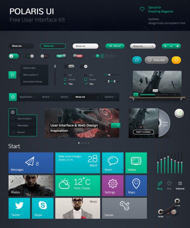 Polaris UI Kit Free