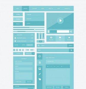 Responsive UI Kits (PSD)