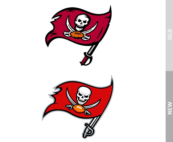 Logo Redesign of Tampa Bay Buccaneers