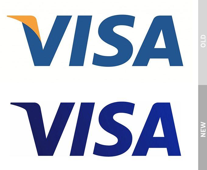 Logo Redesign of Visa