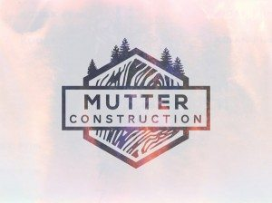 TOP OUTDOOR LOGOS #10 - MUTTER CONSTRUCTION OUTDOOR LOGO BY IAN WILLIAMS
