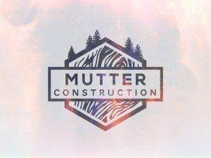 TOP OUTDOOR LOGOS #10 - MUTTER CONSTRUCTION OUTDOOR LOGO BY IAN WILLIAMS