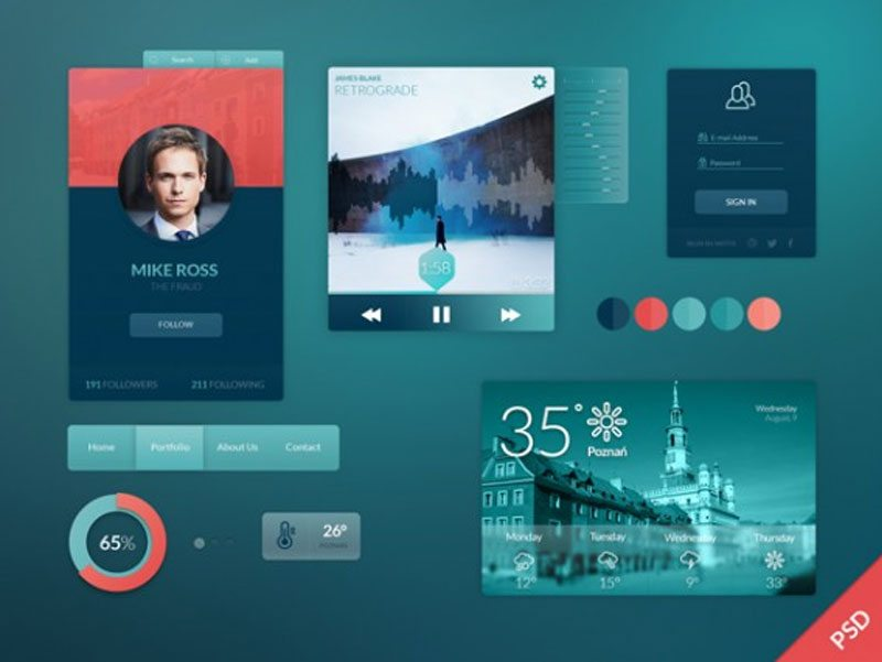 106-Free-Flat-UI-Kits-to-Boost-Your-Designs-in-No-Time97