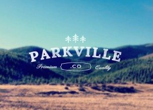 TOP OUTDOOR LOGOS # 5 - PARKVILLE.CO IDENTITY BY CHRISTINE CALO