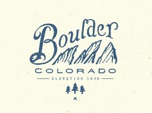 TOP OUTDOOR LOGOS #6 - BOULDER BY STEVE WOLF