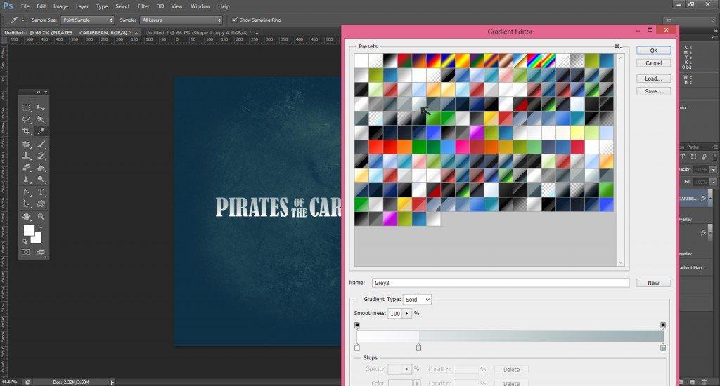 Step -6 (Pirates Of Caribbean Movie Logo )