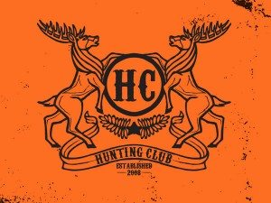 TOP OUTDOOR LOGOS #8-HUNTING CLUB OUTDOOR LOGO BY MICAH THOMPSON