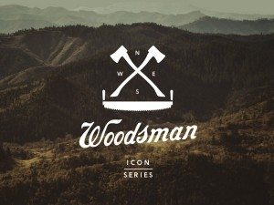 TOP OUTDOOR LOGOS #9-WOODSMAN ICON SERIES BY GUVNOR