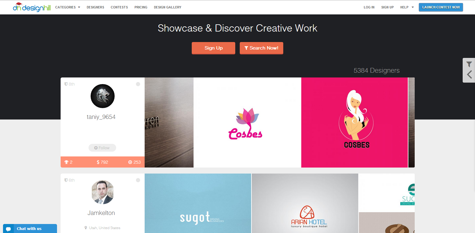 Get a Professional Logo in Just $99 at Designhill