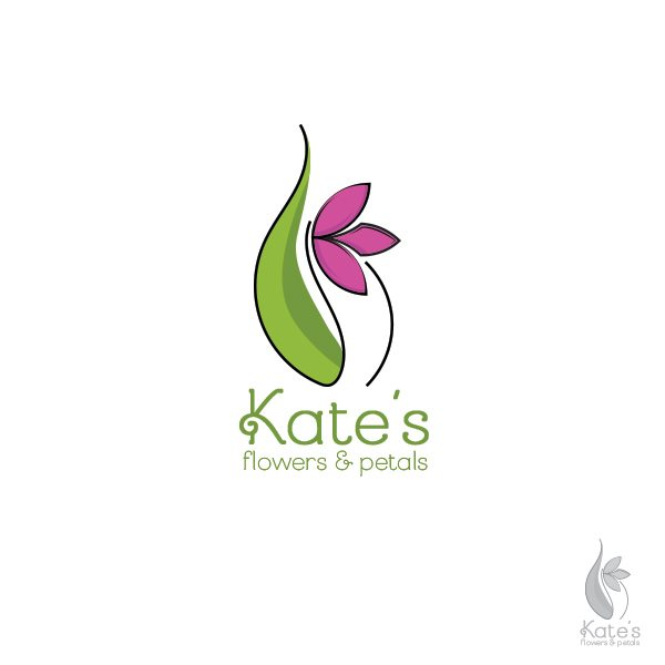 Kate's Flowers & Petals Logo
