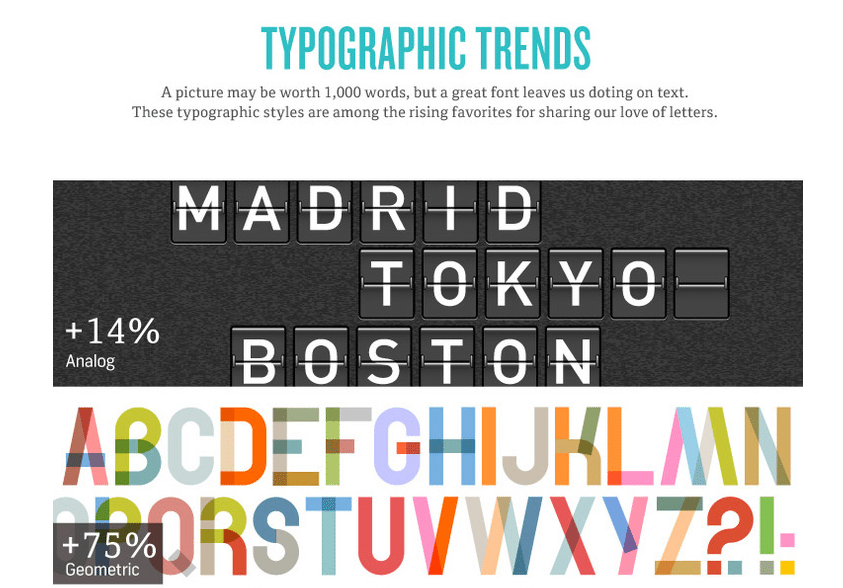 Typography Graphic Design Trends