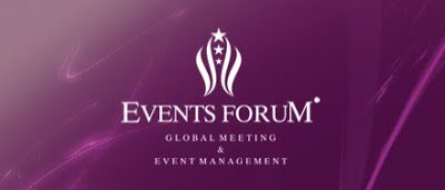 Events Forum Company Logo Design