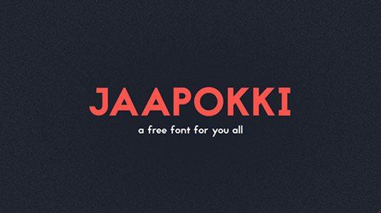 Jaapokki Graphic Design Fonts