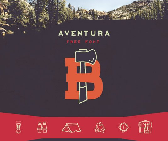 Aventura Graphic Design Fonts