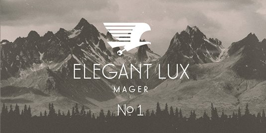 Elegant Lux Graphic Design Fonts