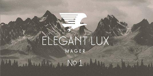 Elegant Lux Graphic Design Fonts