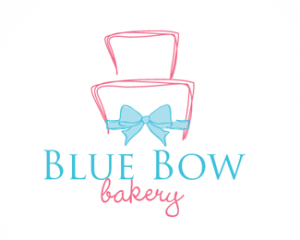 Blue Bow Bakery Logo