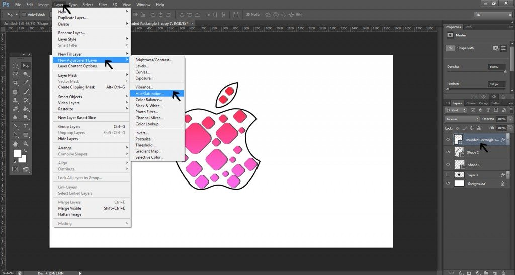 Step- 10 (Step to Create Apple Logo)
