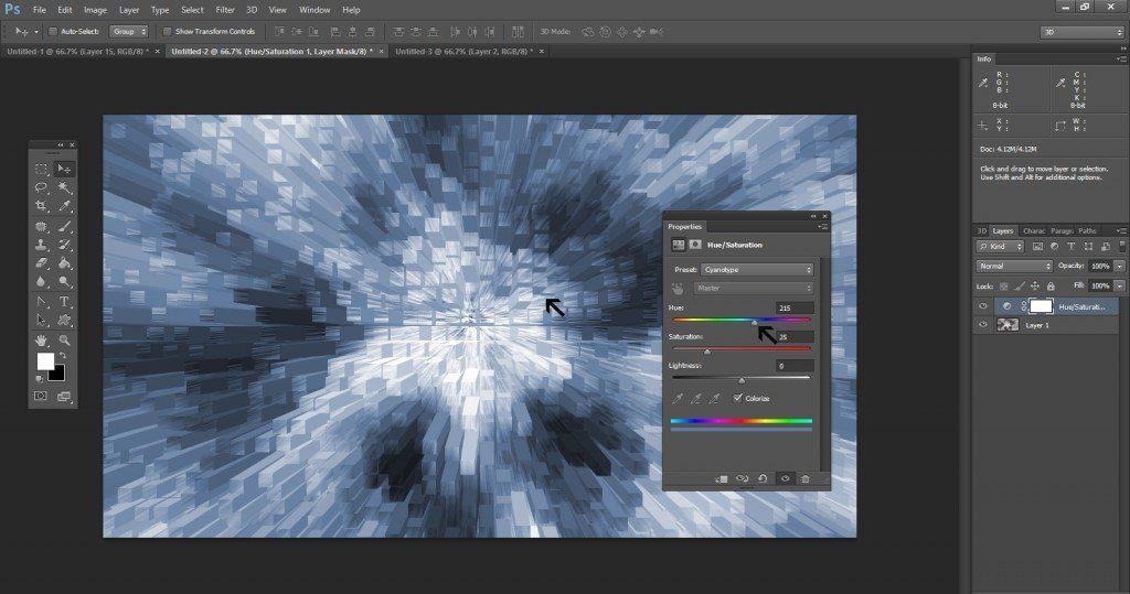 Step - 11 (Create 3D Blocks Background In Photoshop)
