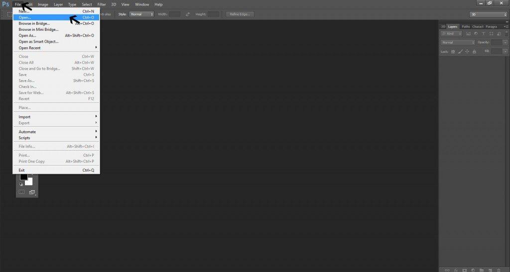 Step - 1 (Create 3D Blocks Background In Photoshop)