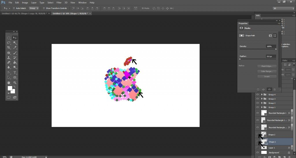Step- 14 (Step to Create Apple Logo)