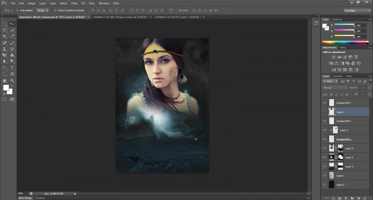 How To Create Your Super Hero Movie Poster In Easy Steps- Part-3