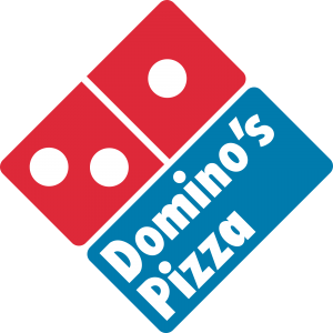 dominos restaurant logo design