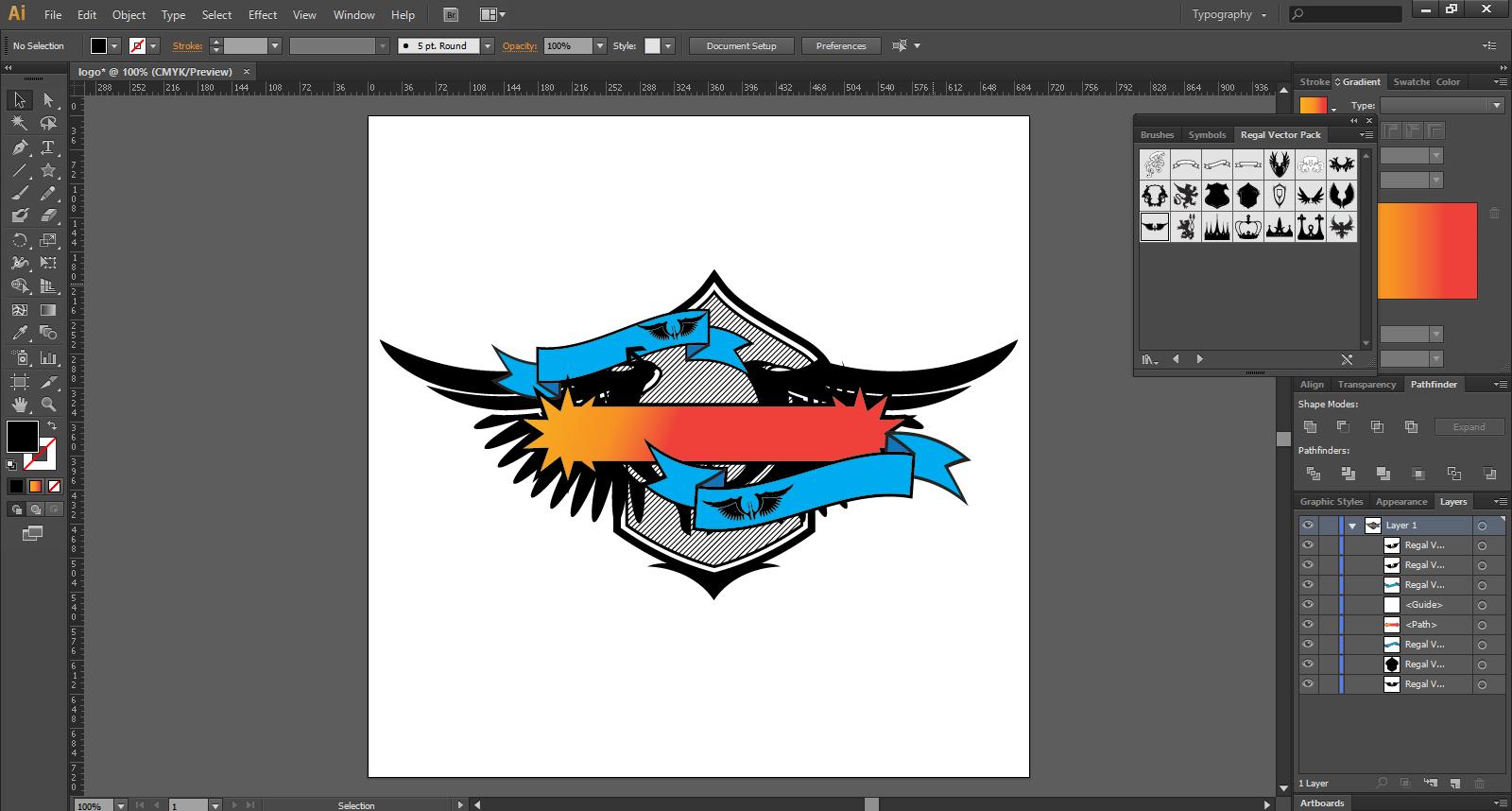 Create Logo Design In Illustrator